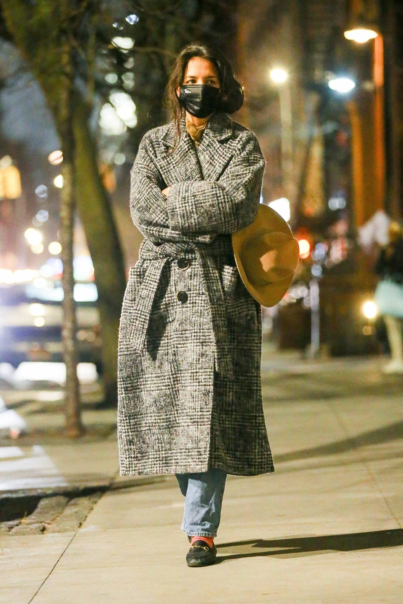 Katie Holmes - Night Out in New York
