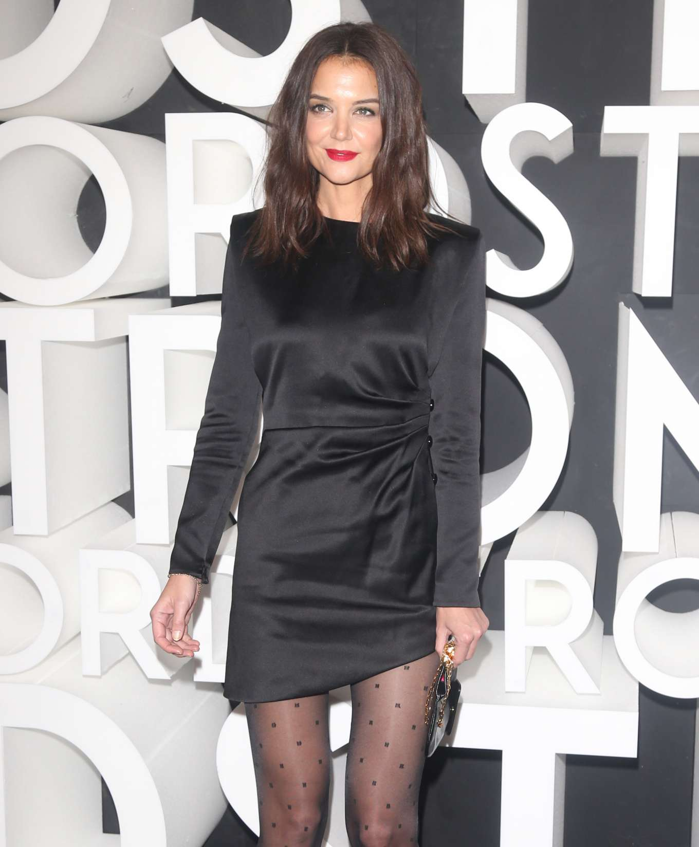 Katie Holmes - Nordstrom Grand Opening in New York City