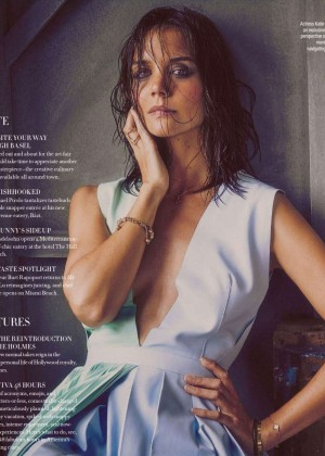Katie Holmes - Ocean Drive Magazine (December 2015)