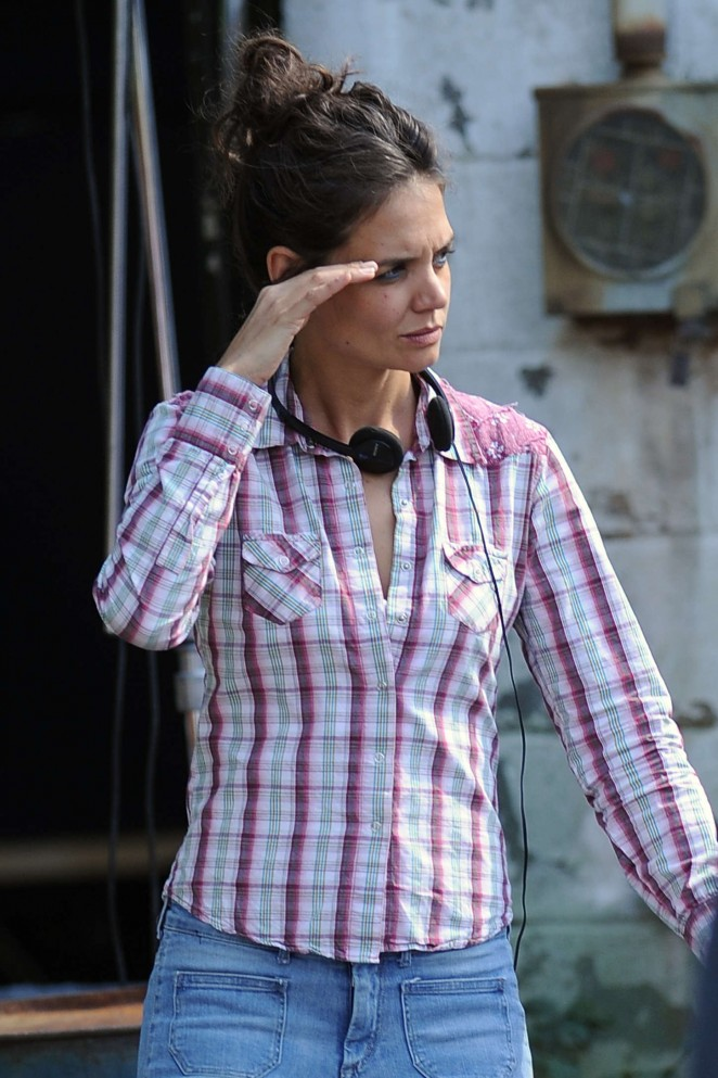 Katie Holmes: On All We Had set -48