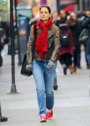 Katie Holmes - Out and about in New York City
