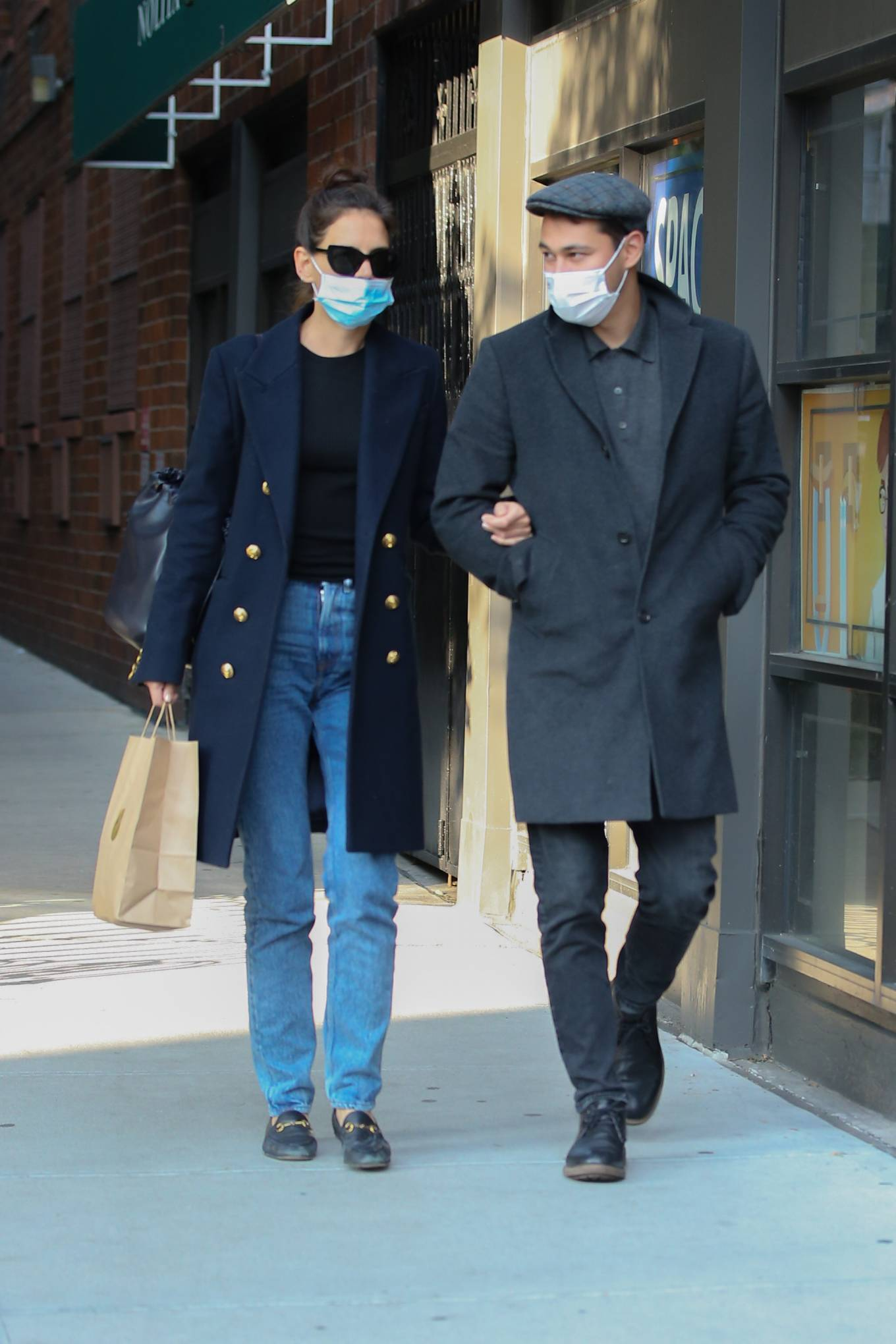 Katie Holmes 2020 : Katie Holmes – Out and about in New York-03