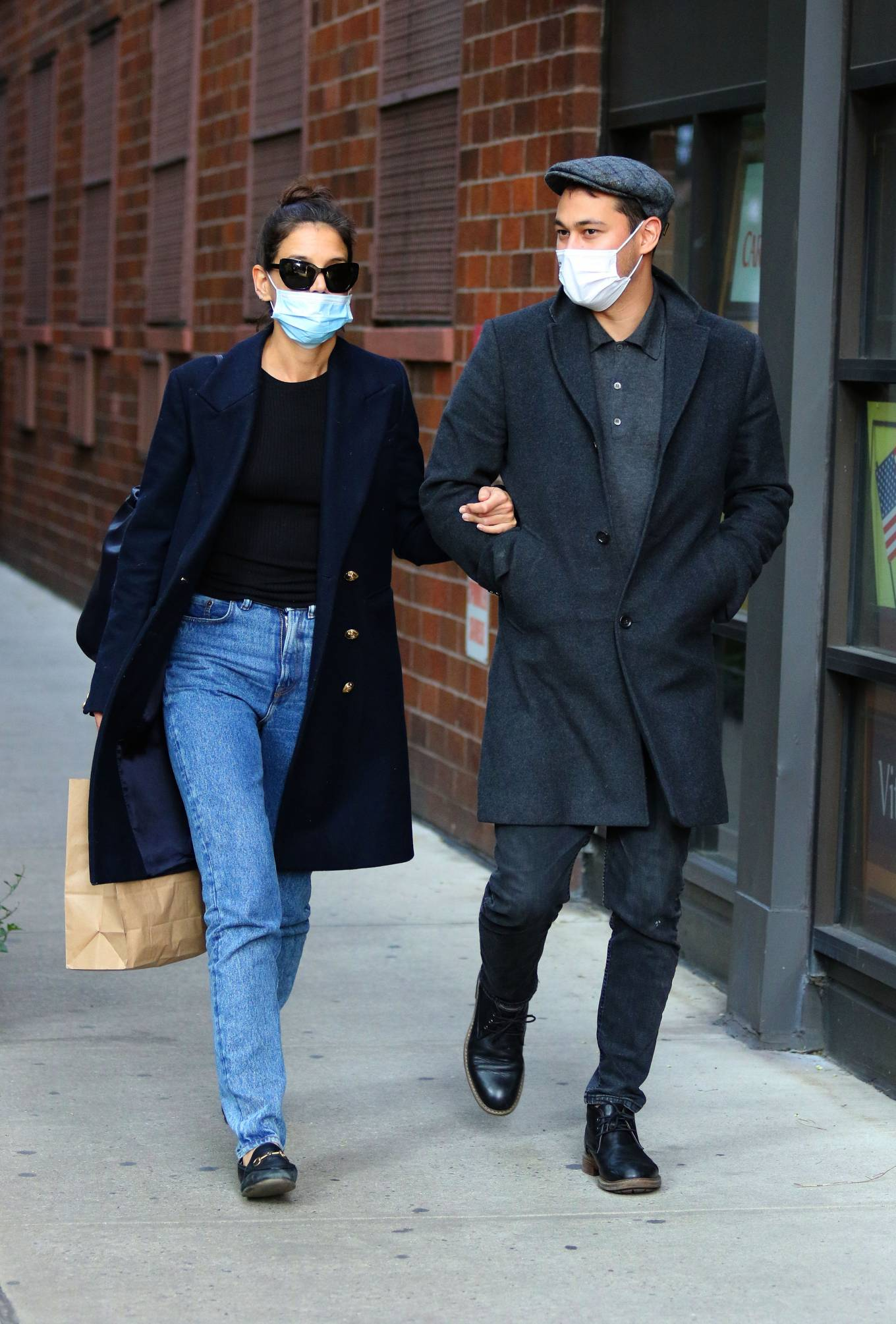 Katie Holmes 2020 : Katie Holmes – Out and about in New York-09