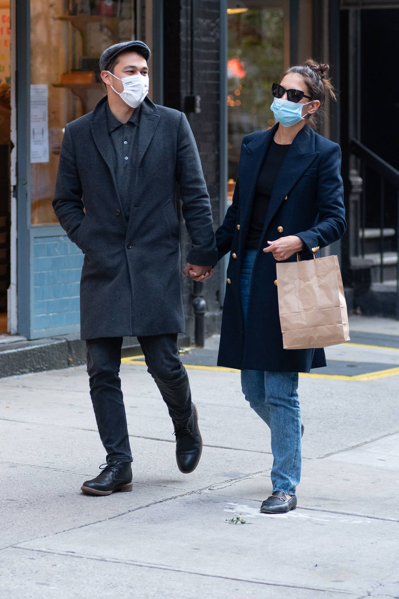 Katie Holmes 2020 : Katie Holmes – Out and about in New York-11