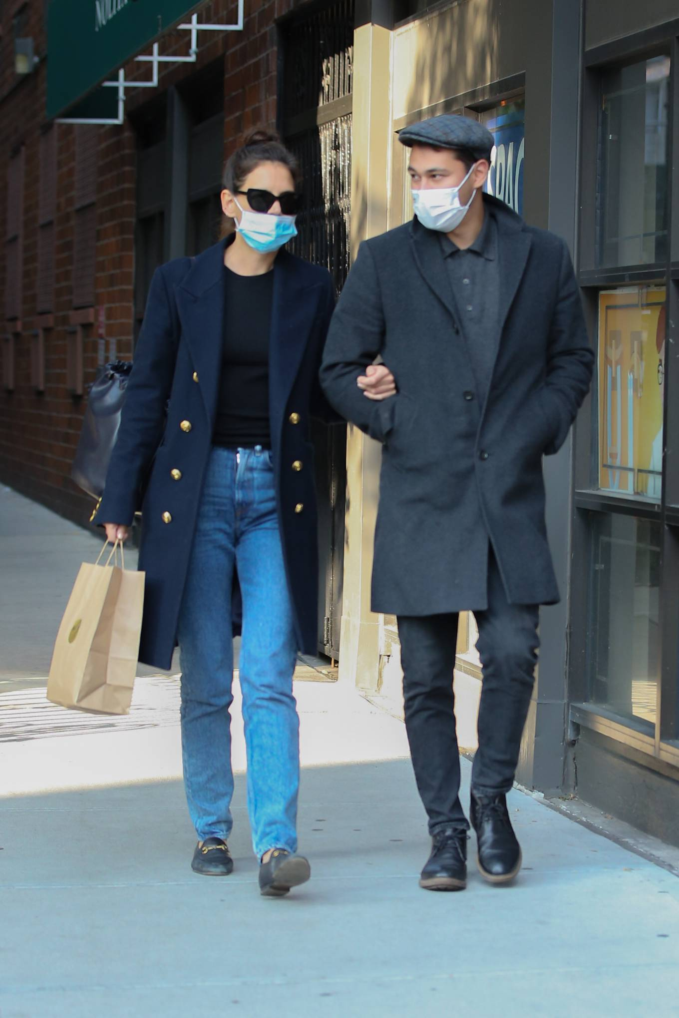 Katie Holmes 2020 : Katie Holmes – Out and about in New York-12