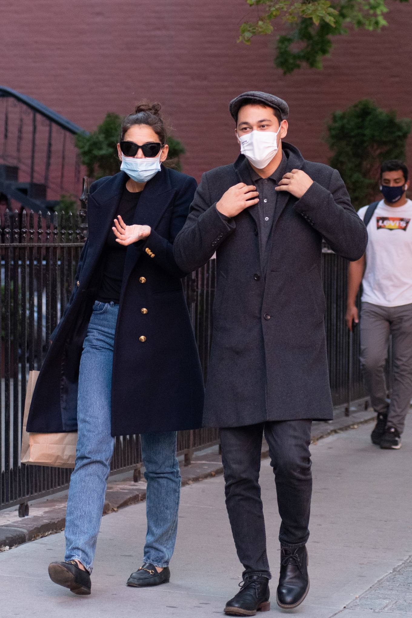 Katie Holmes 2020 : Katie Holmes – Out and about in New York-15