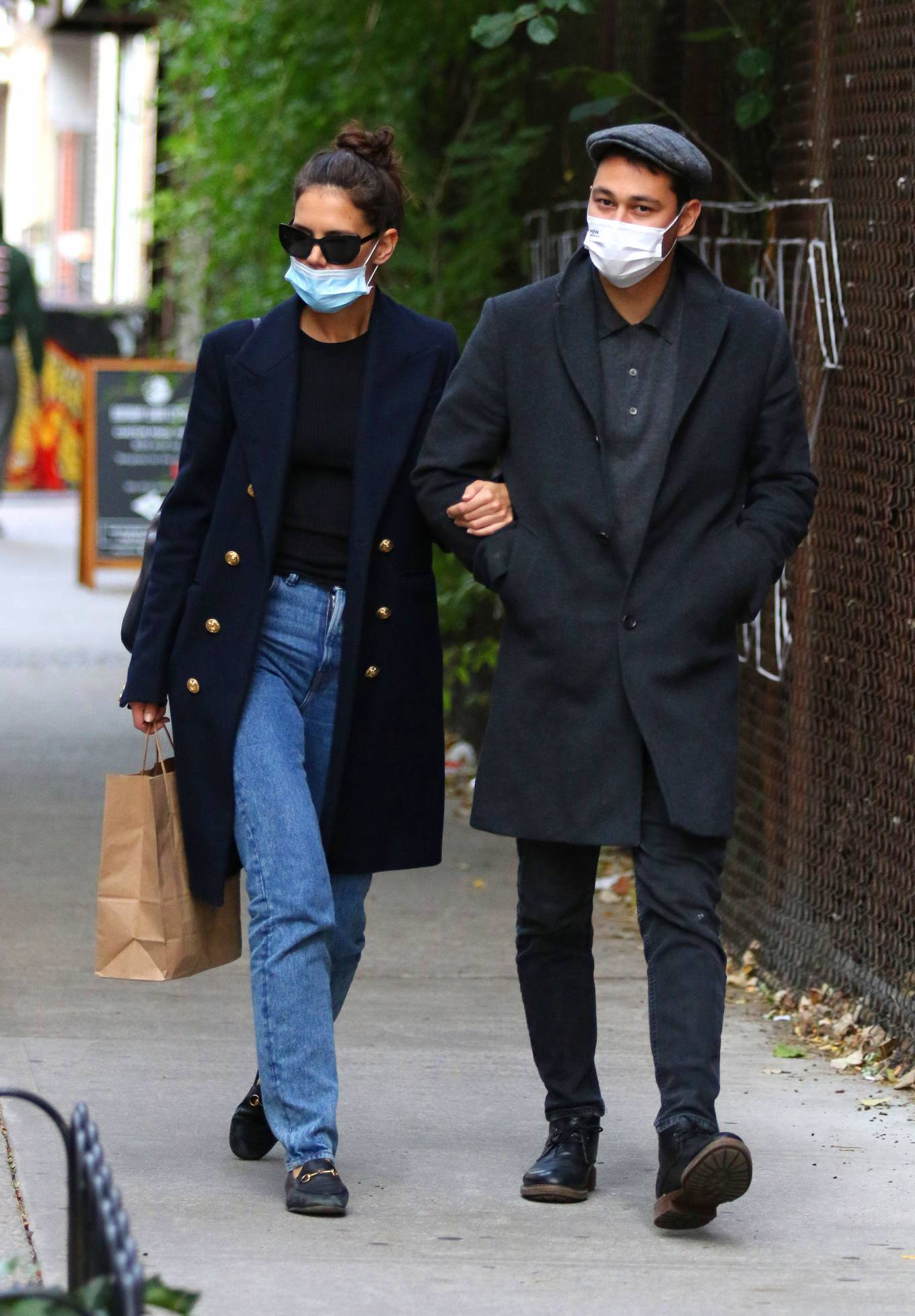 Katie Holmes 2020 : Katie Holmes – Out and about in New York-16