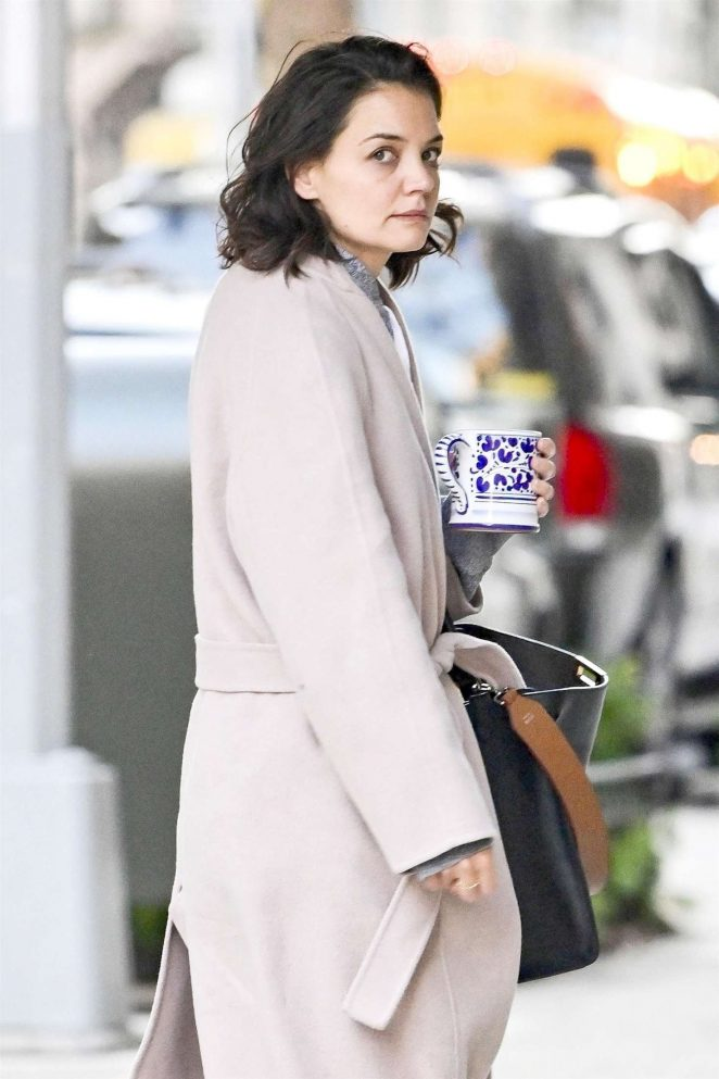 Katie Holmes - Out and about in New York