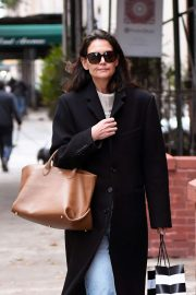 Katie Holmes - Out and about in NY