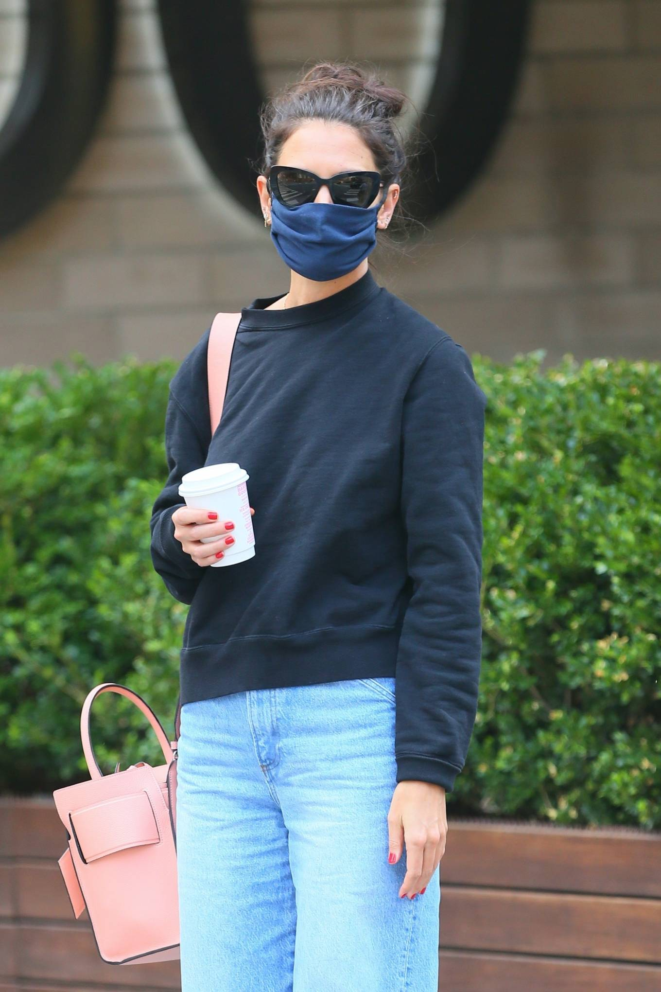 Katie Holmes 2020 : Katie Holmes – Out and about in SoHo-06
