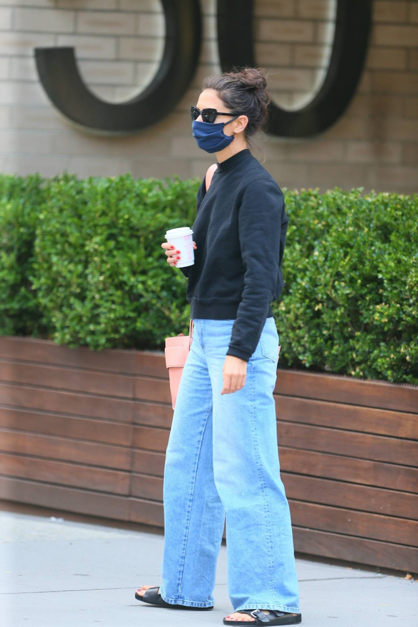 Katie Holmes 2020 : Katie Holmes – Out and about in SoHo-11