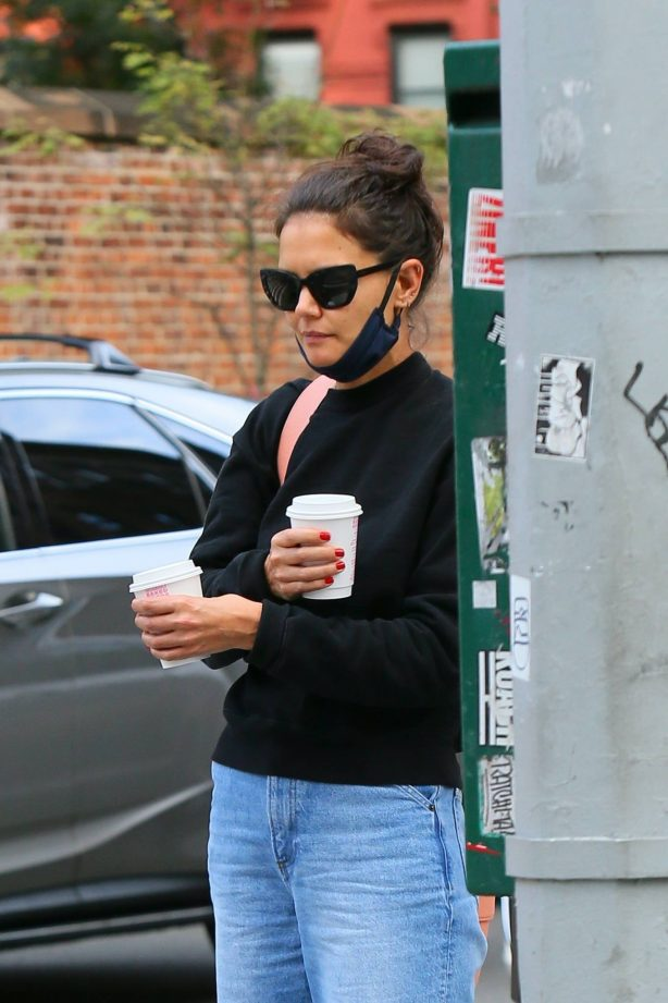 Katie Holmes - Out and about in SoHo