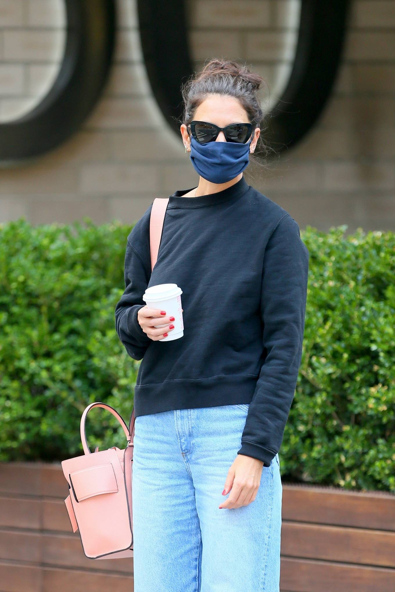 Katie Holmes 2020 : Katie Holmes – Out and about in SoHo-13