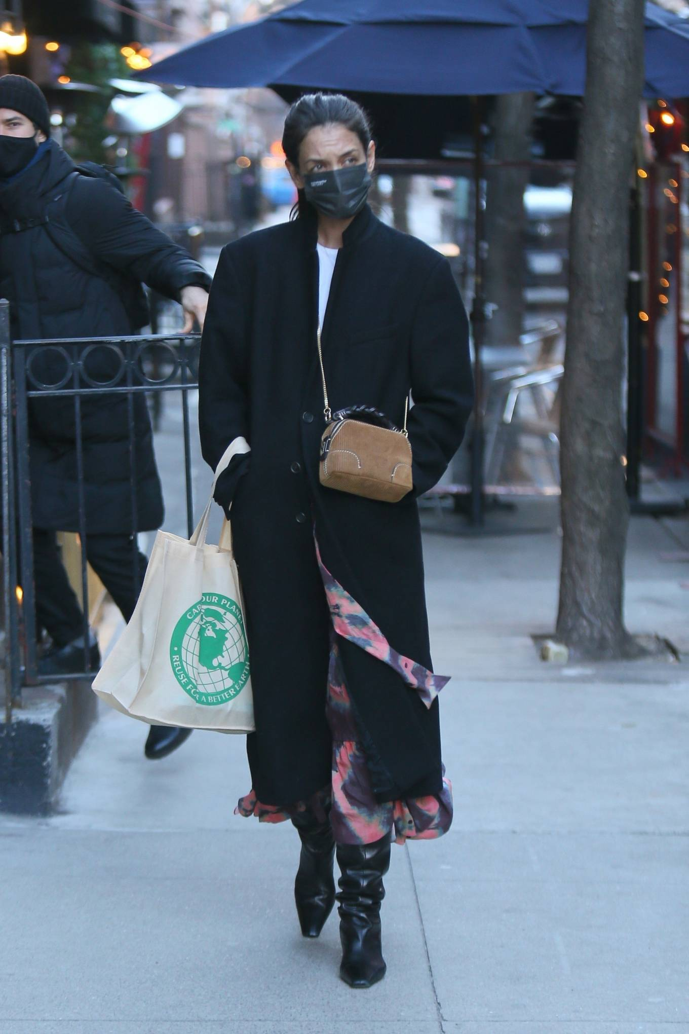 Katie Holmes - Out for a shopping in New York