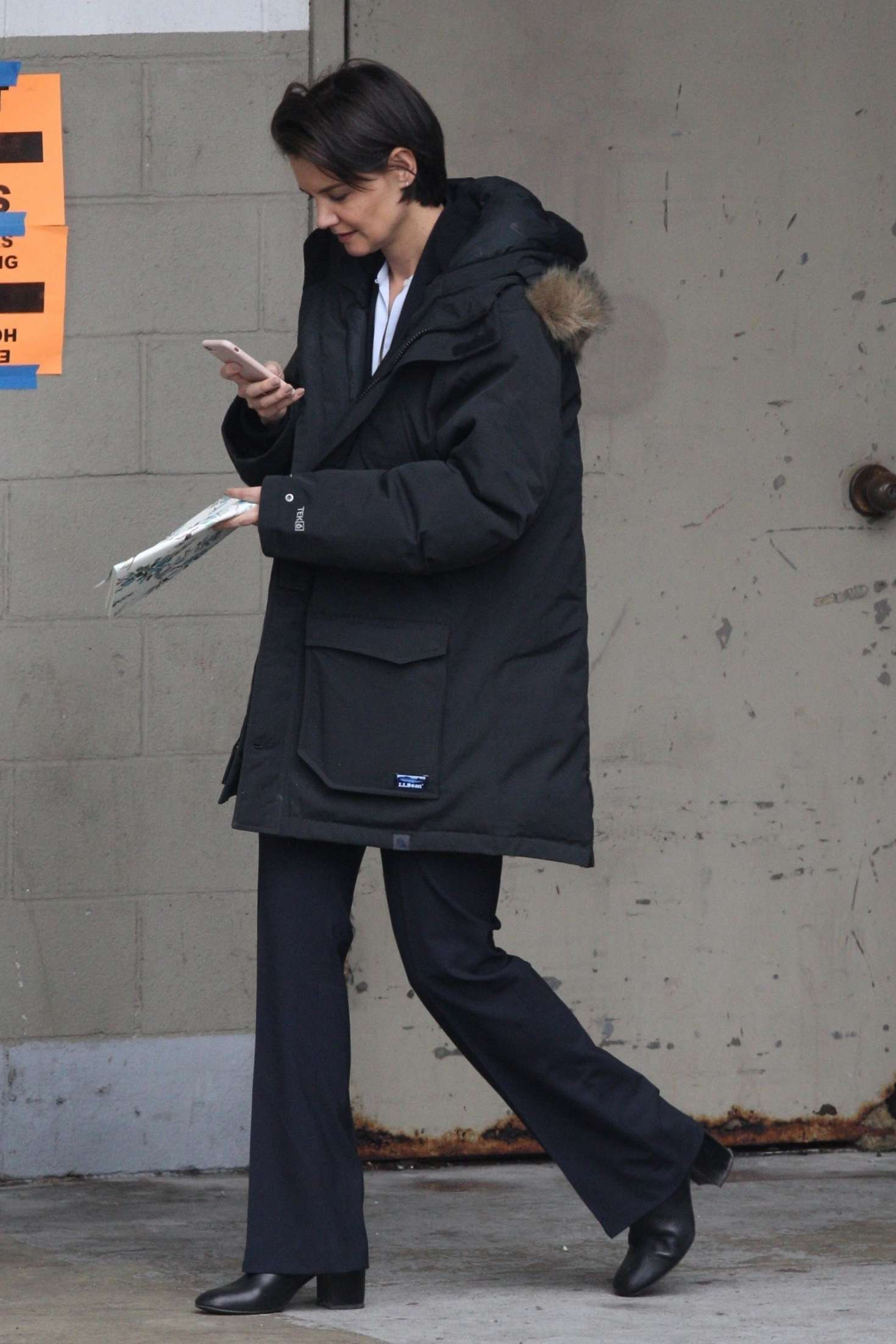 Katie Holmes 2018 : Katie Holmes out in Chicago -01