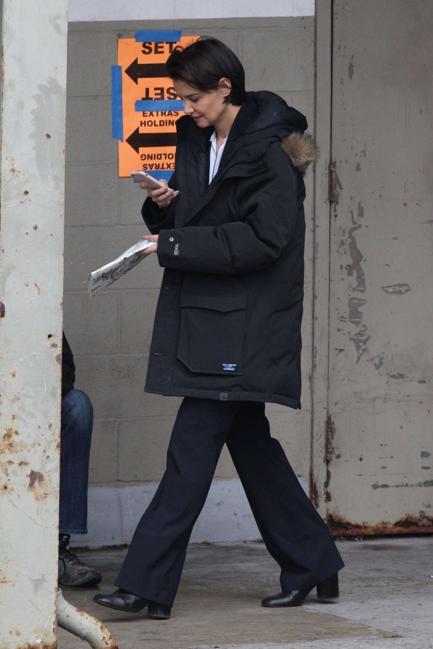 Katie Holmes 2018 : Katie Holmes out in Chicago -02