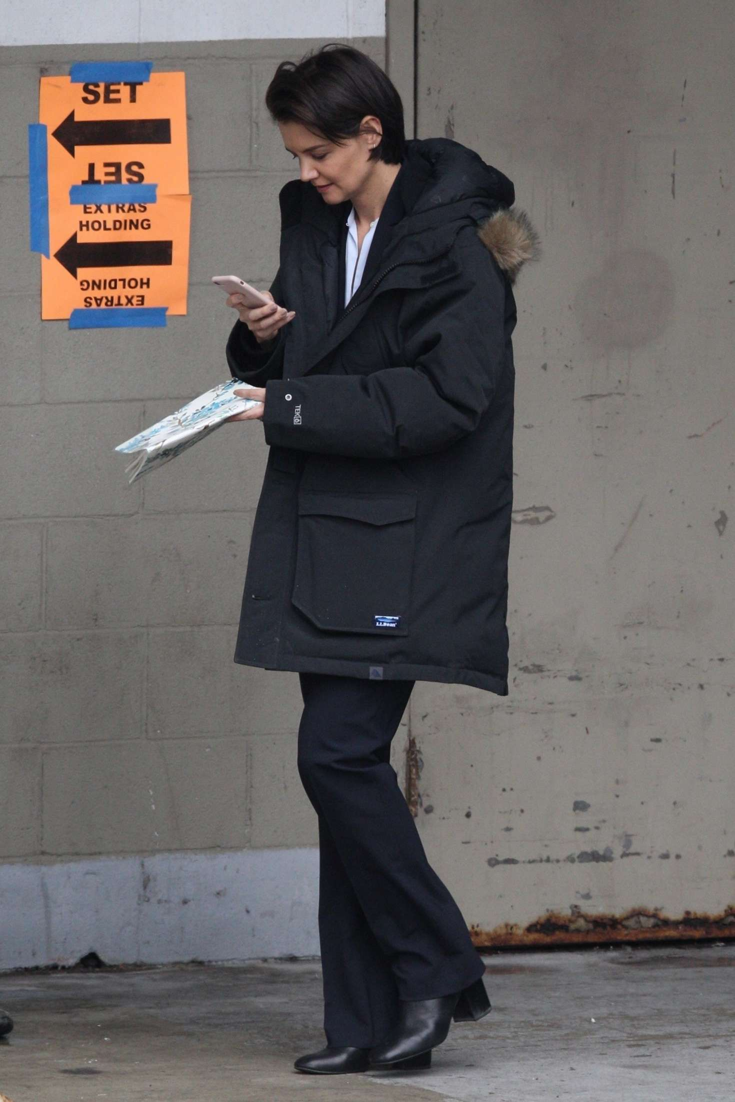 Katie Holmes 2018 : Katie Holmes out in Chicago -05