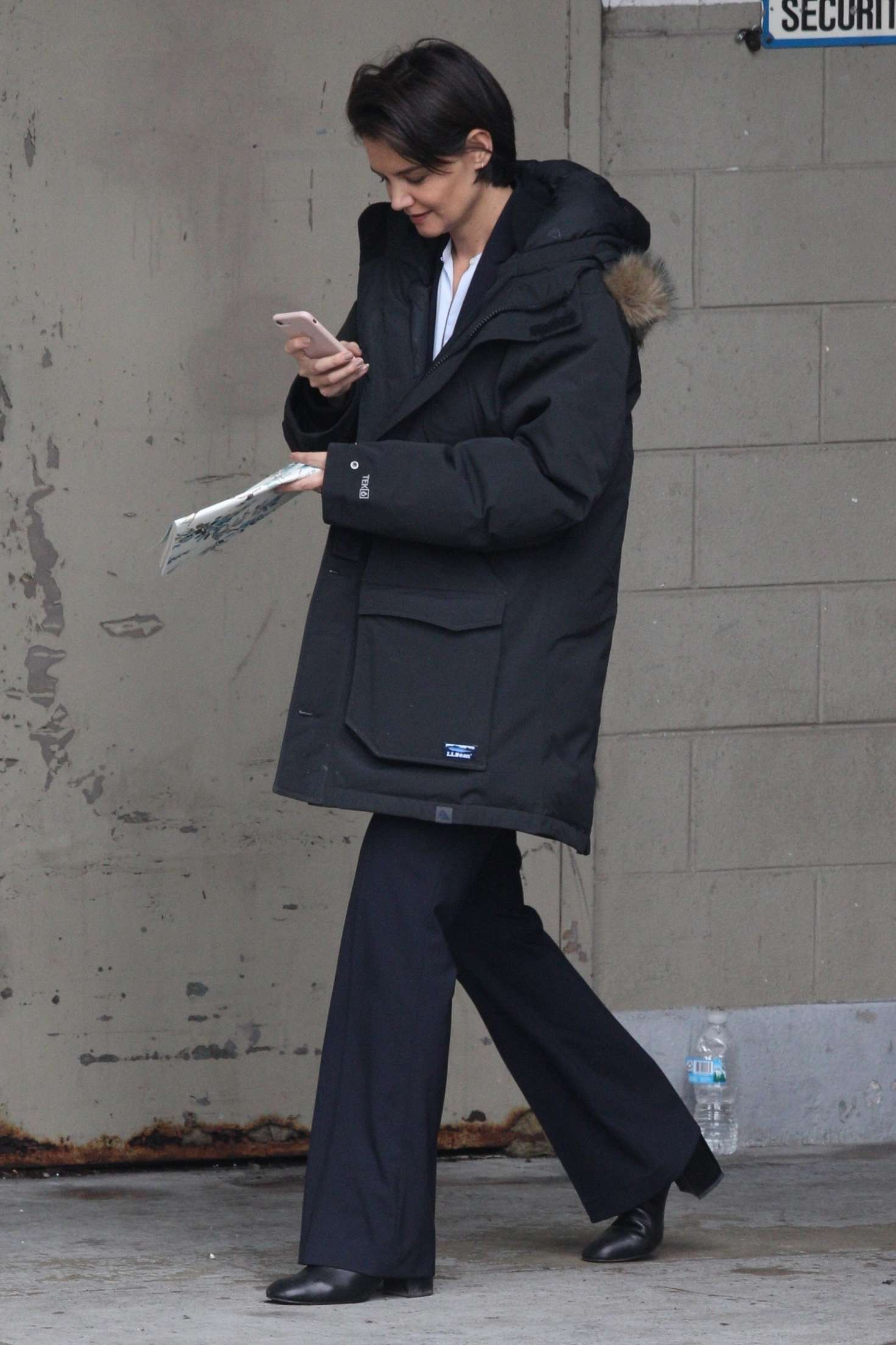 Katie Holmes 2018 : Katie Holmes out in Chicago -06