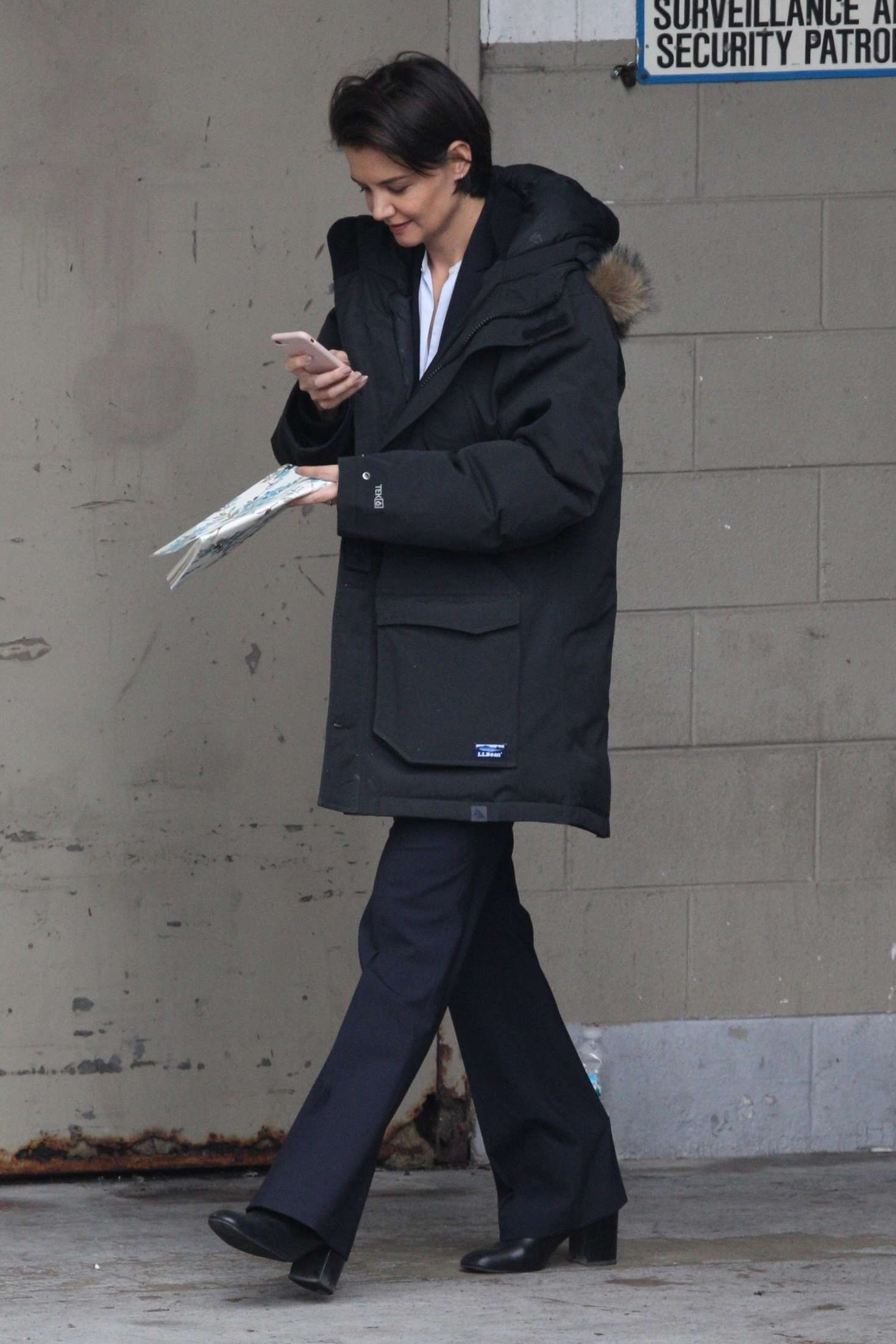 Katie Holmes 2018 : Katie Holmes out in Chicago -08
