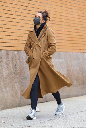 Katie Holmes - Out in Manhattan