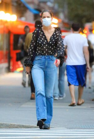 Katie Holmes - Out in New York City