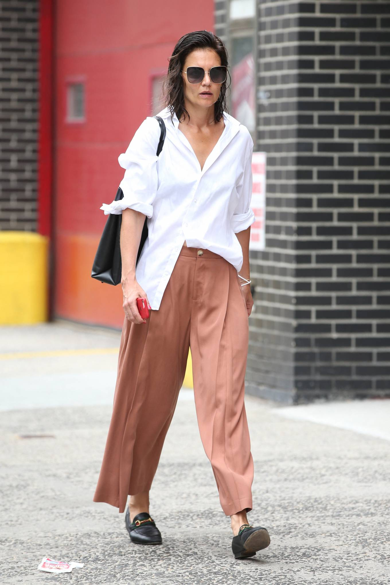 Katie Holmes 2021 : Katie Holmes – Out in New York-04