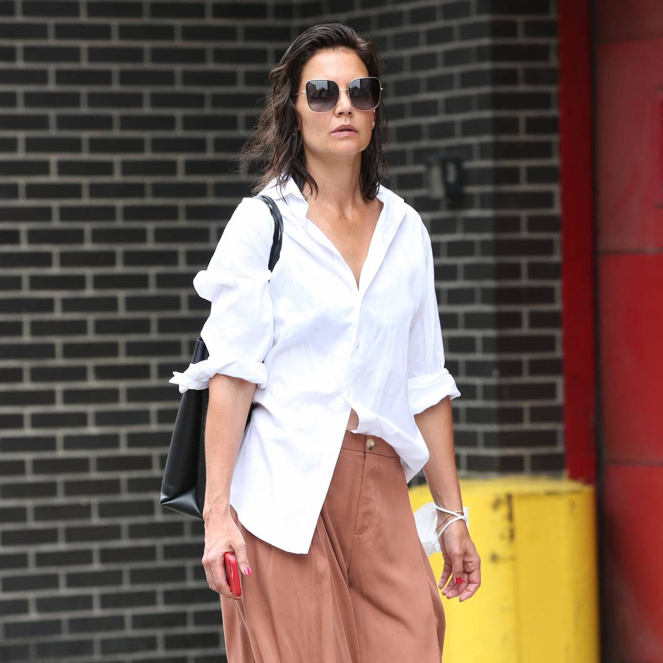Katie Holmes 2021 : Katie Holmes – Out in New York-07
