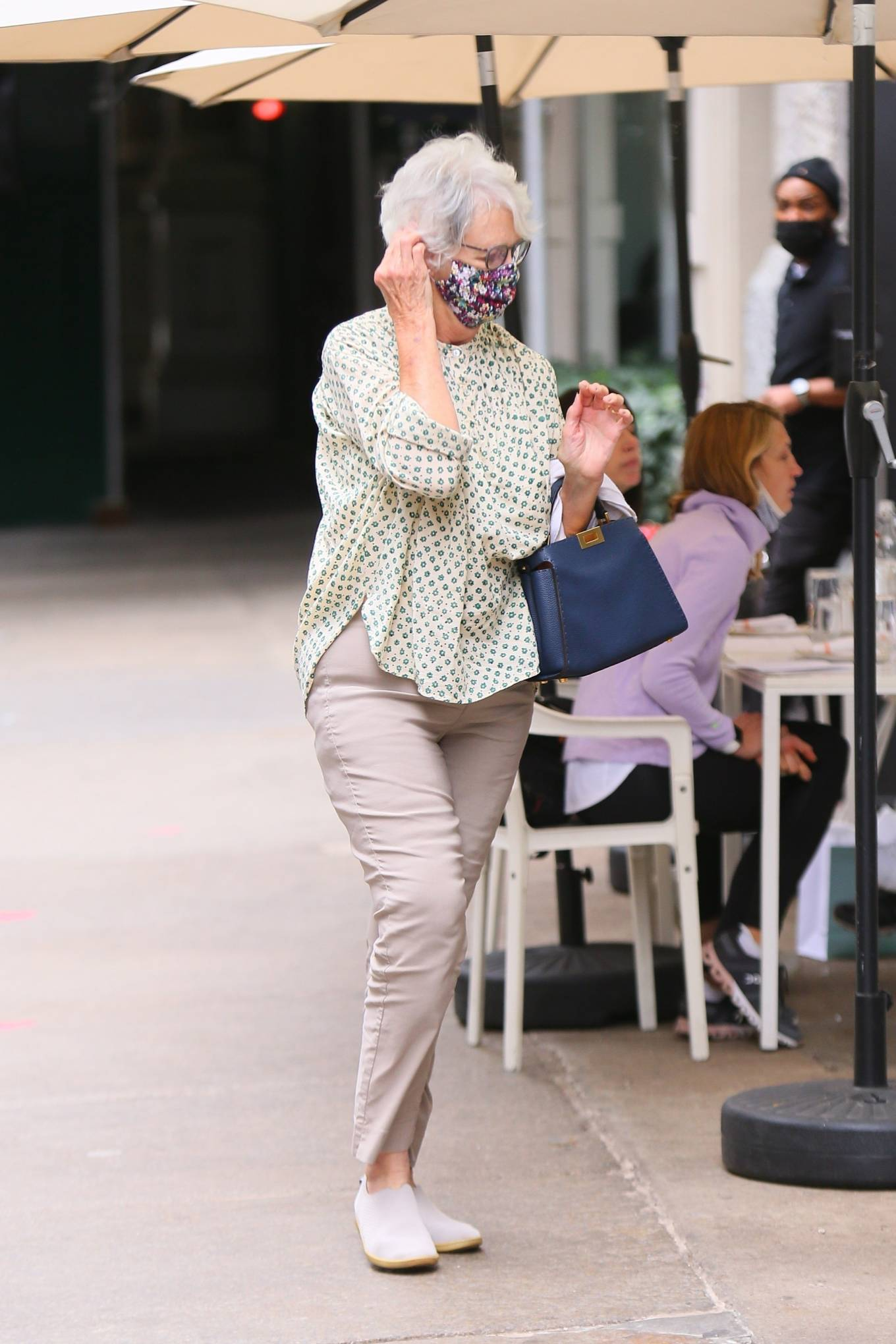 Katie Holmes 2021 : Katie Holmes – Out in New York-12
