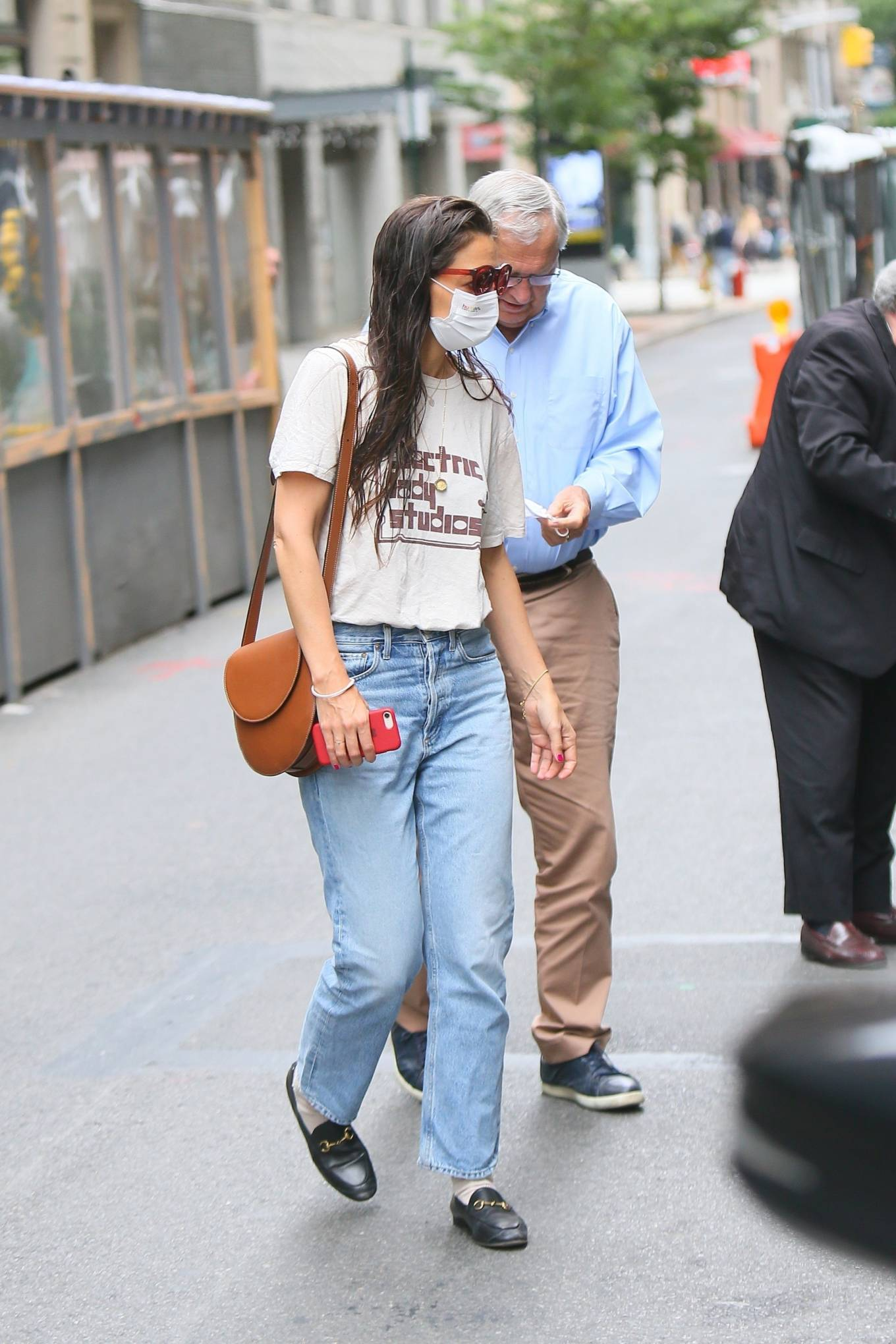 Katie Holmes 2021 : Katie Holmes – Out in New York-14