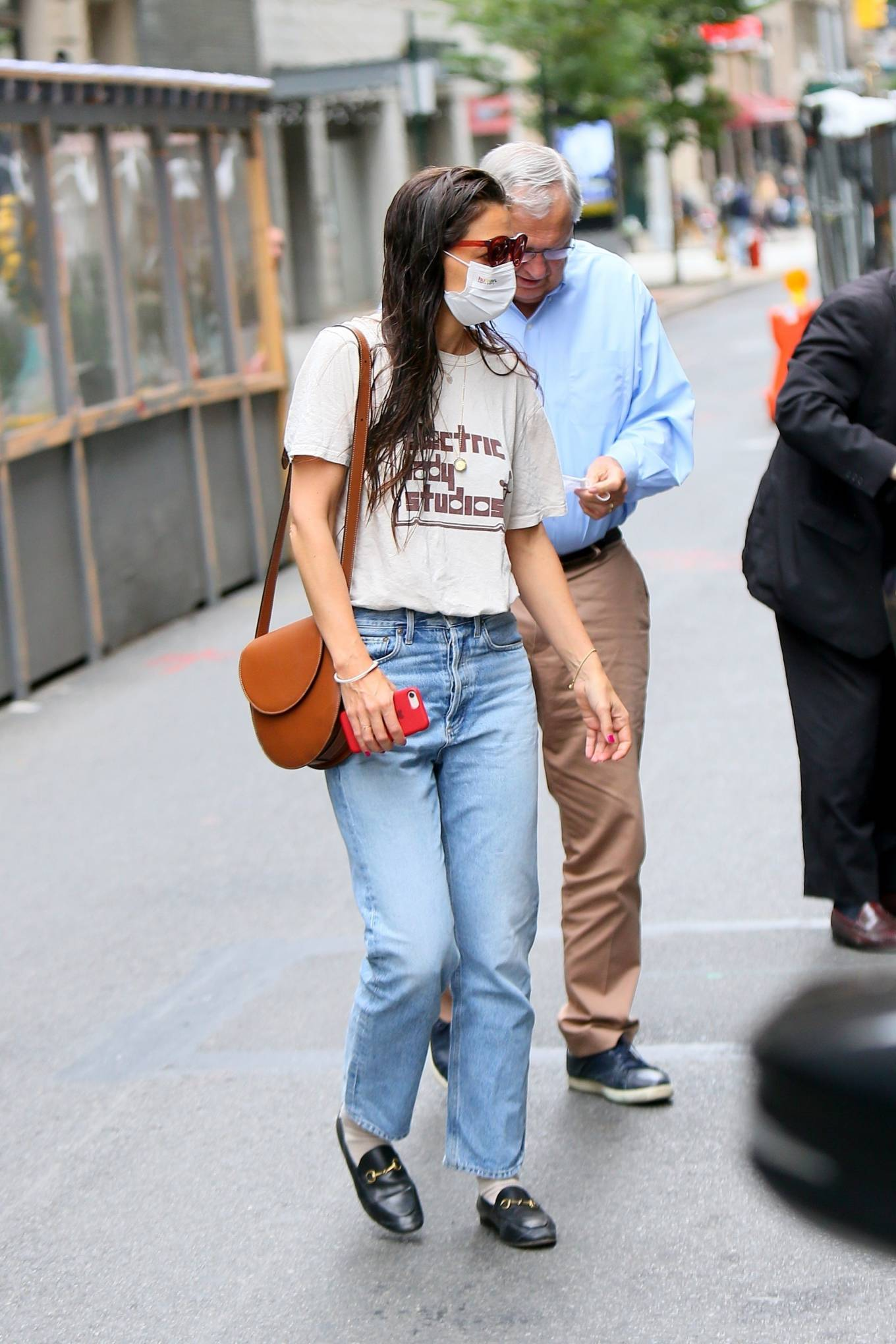 Katie Holmes 2021 : Katie Holmes – Out in New York-15