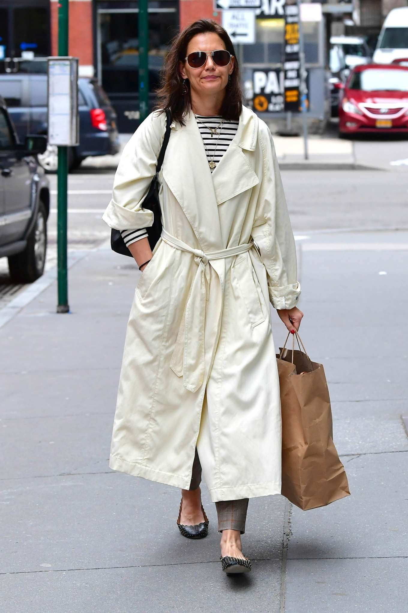 Katie Holmes 2019 : Katie Holmes: Out in New York -02