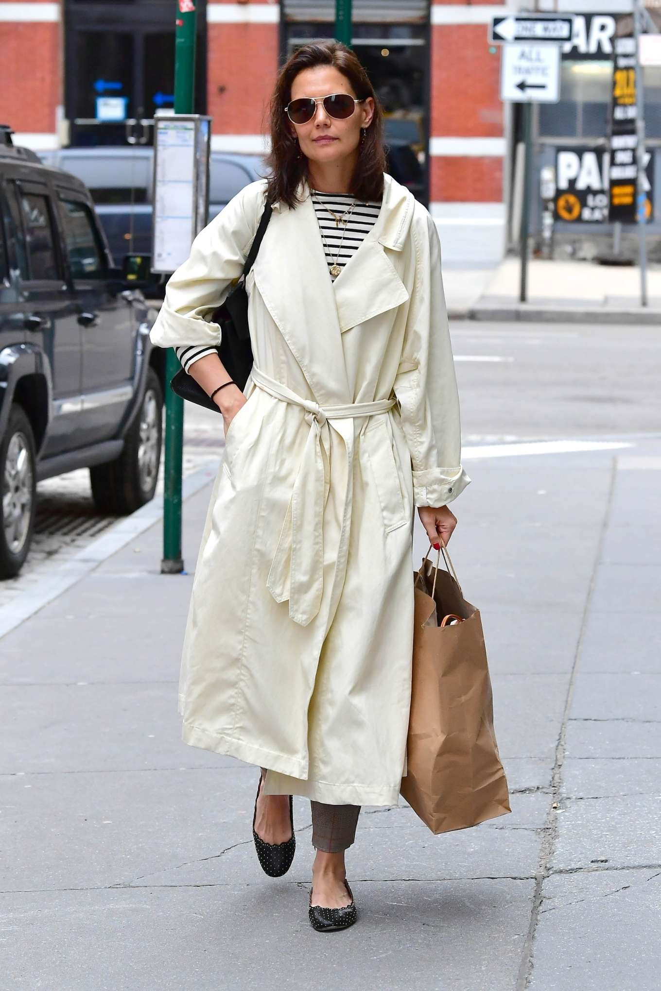 Katie Holmes 2019 : Katie Holmes: Out in New York -03