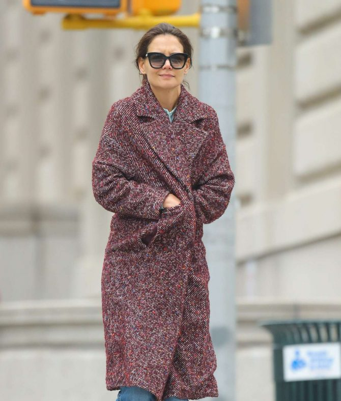 Katie Holmes: Out in New York -05