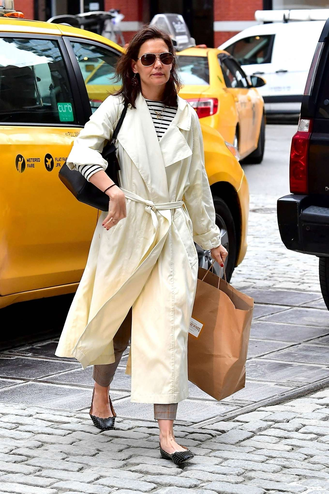Katie Holmes - Out in New York