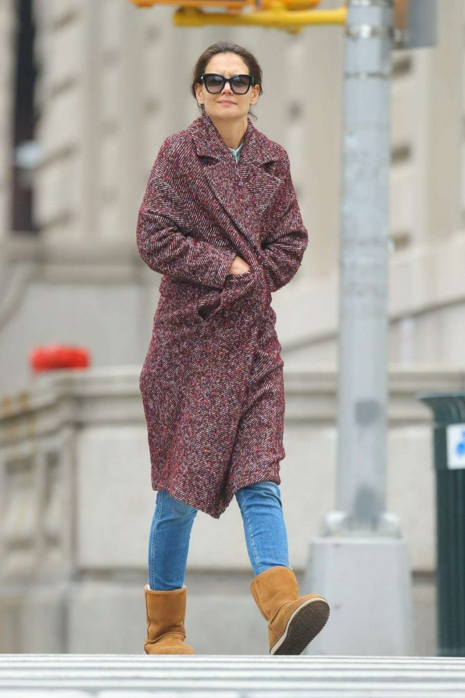 Katie Holmes: Out in New York -06