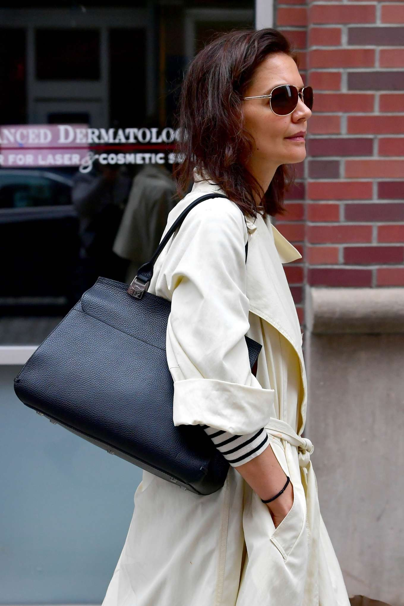 Katie Holmes 2019 : Katie Holmes: Out in New York -08