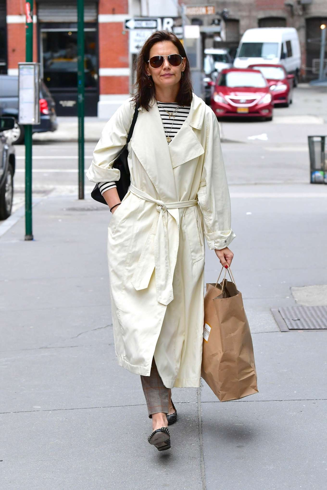 Katie Holmes 2019 : Katie Holmes: Out in New York -12