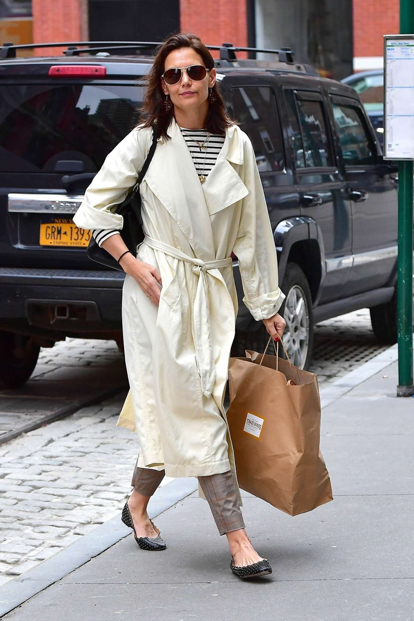 Katie Holmes 2019 : Katie Holmes: Out in New York -13