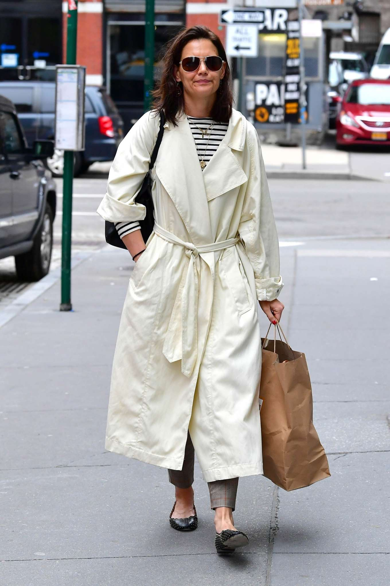 Katie Holmes 2019 : Katie Holmes: Out in New York -14