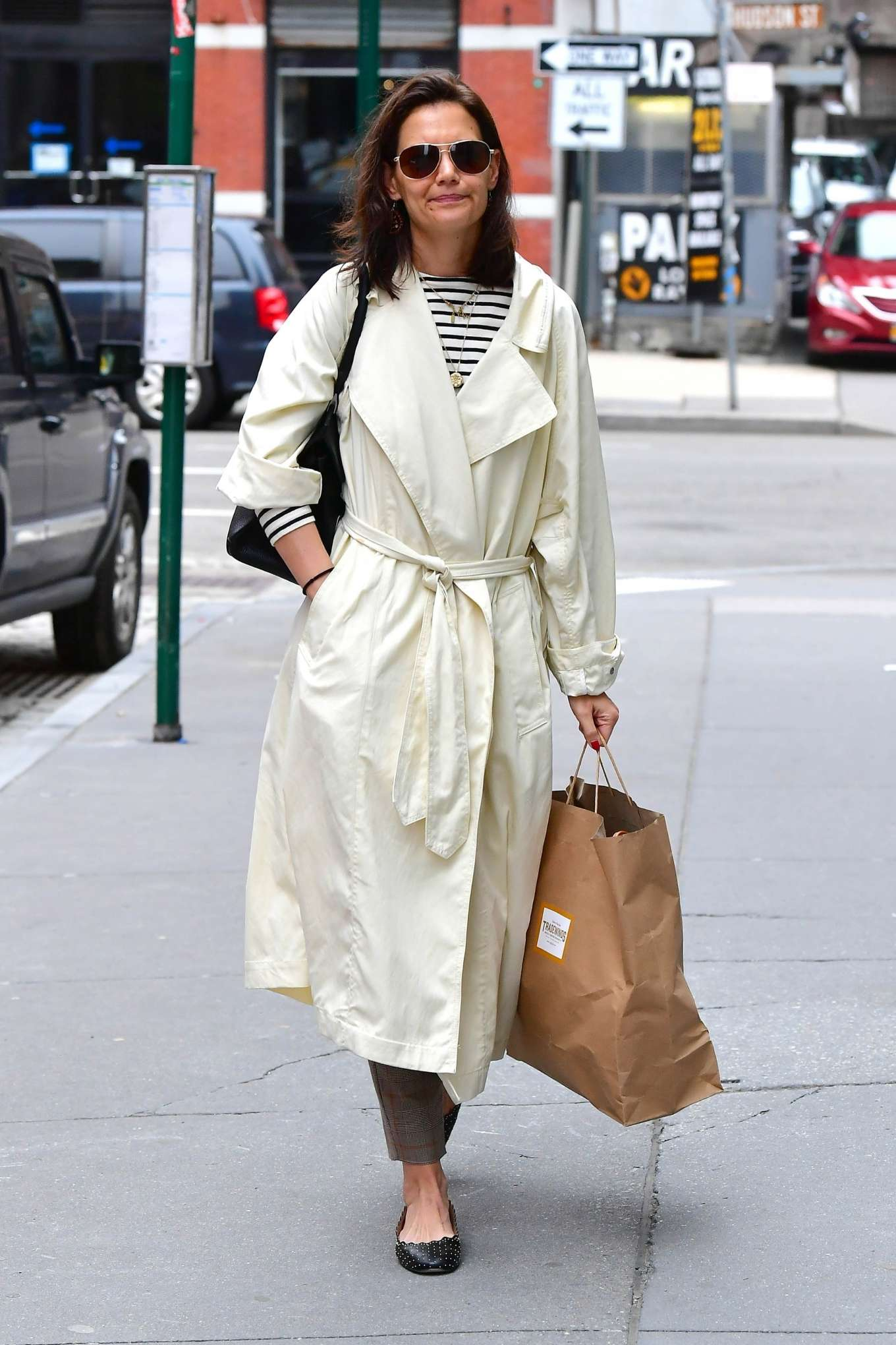 Katie Holmes 2019 : Katie Holmes: Out in New York -15