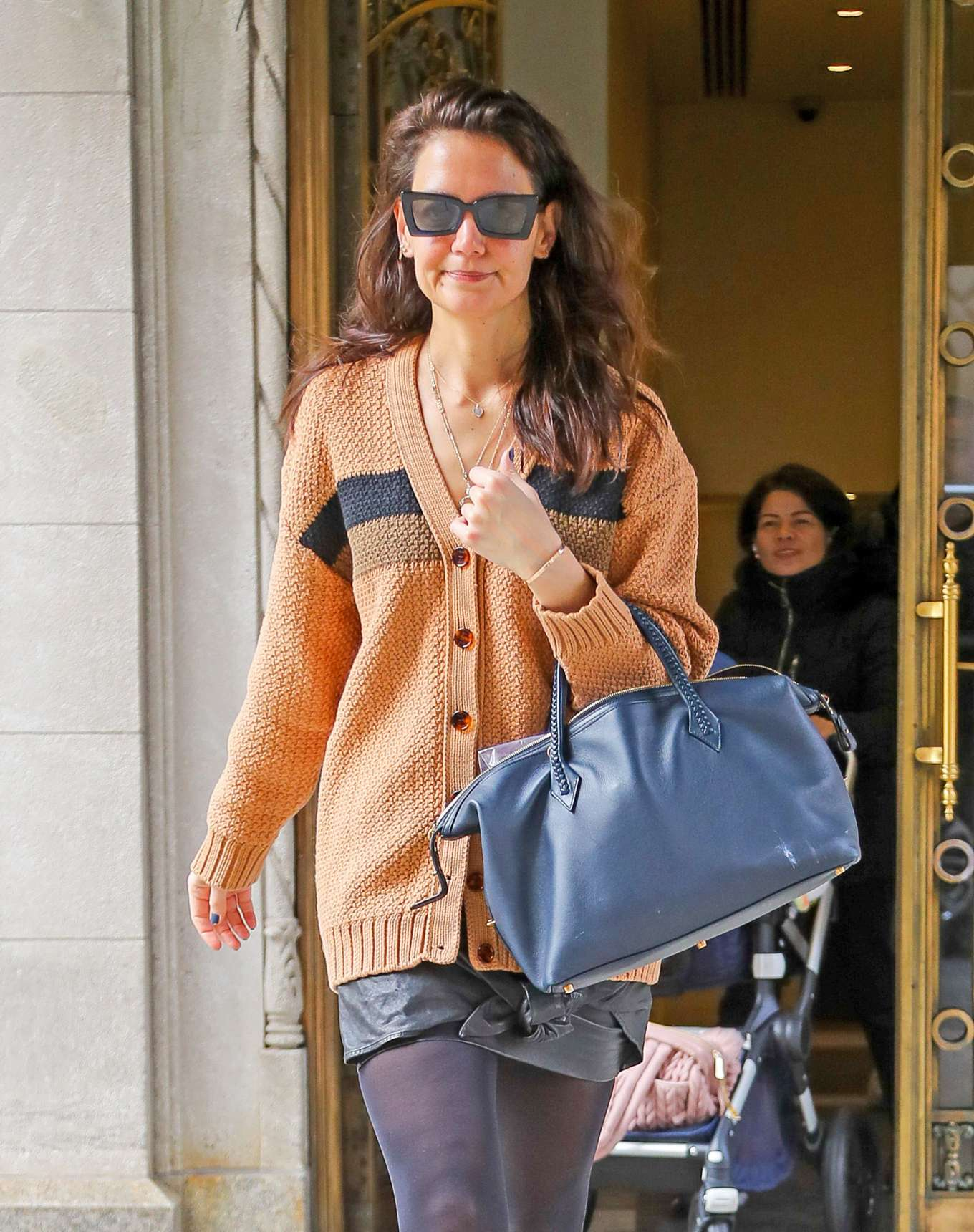 Katie Holmes 2020 : Katie Holmes – out in NYC-01