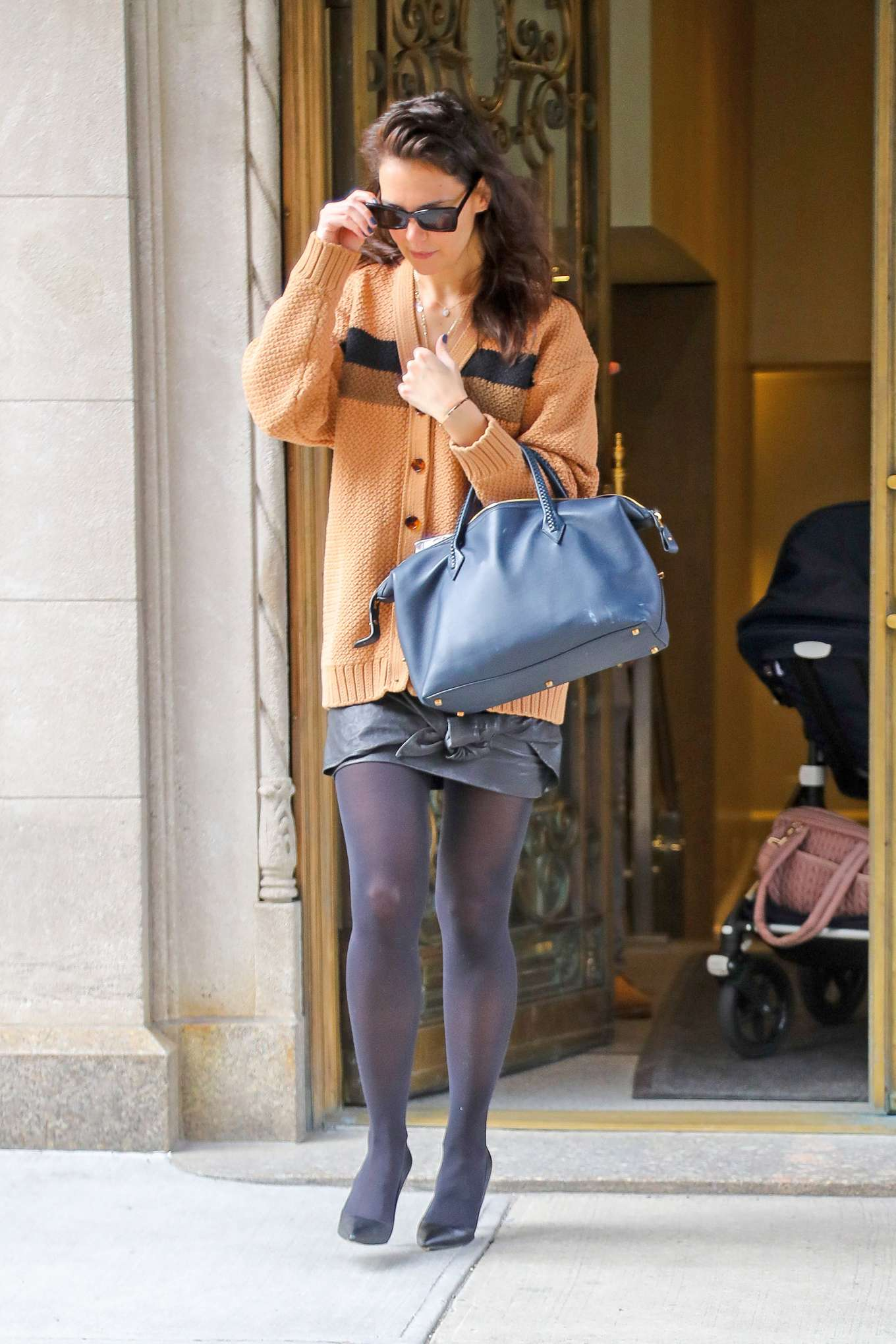 Katie Holmes 2020 : Katie Holmes – out in NYC-02