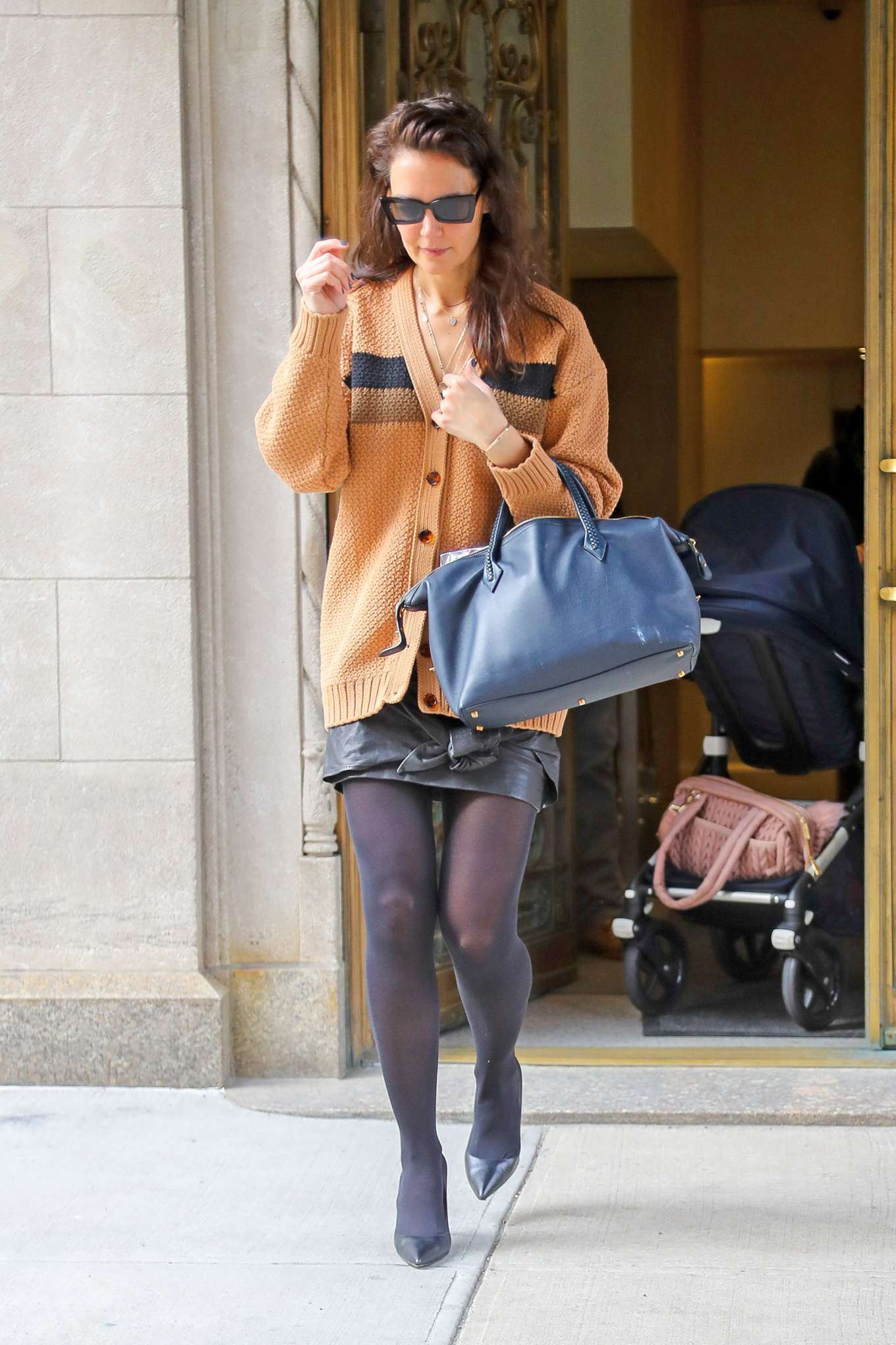 Katie Holmes 2020 : Katie Holmes – out in NYC-03