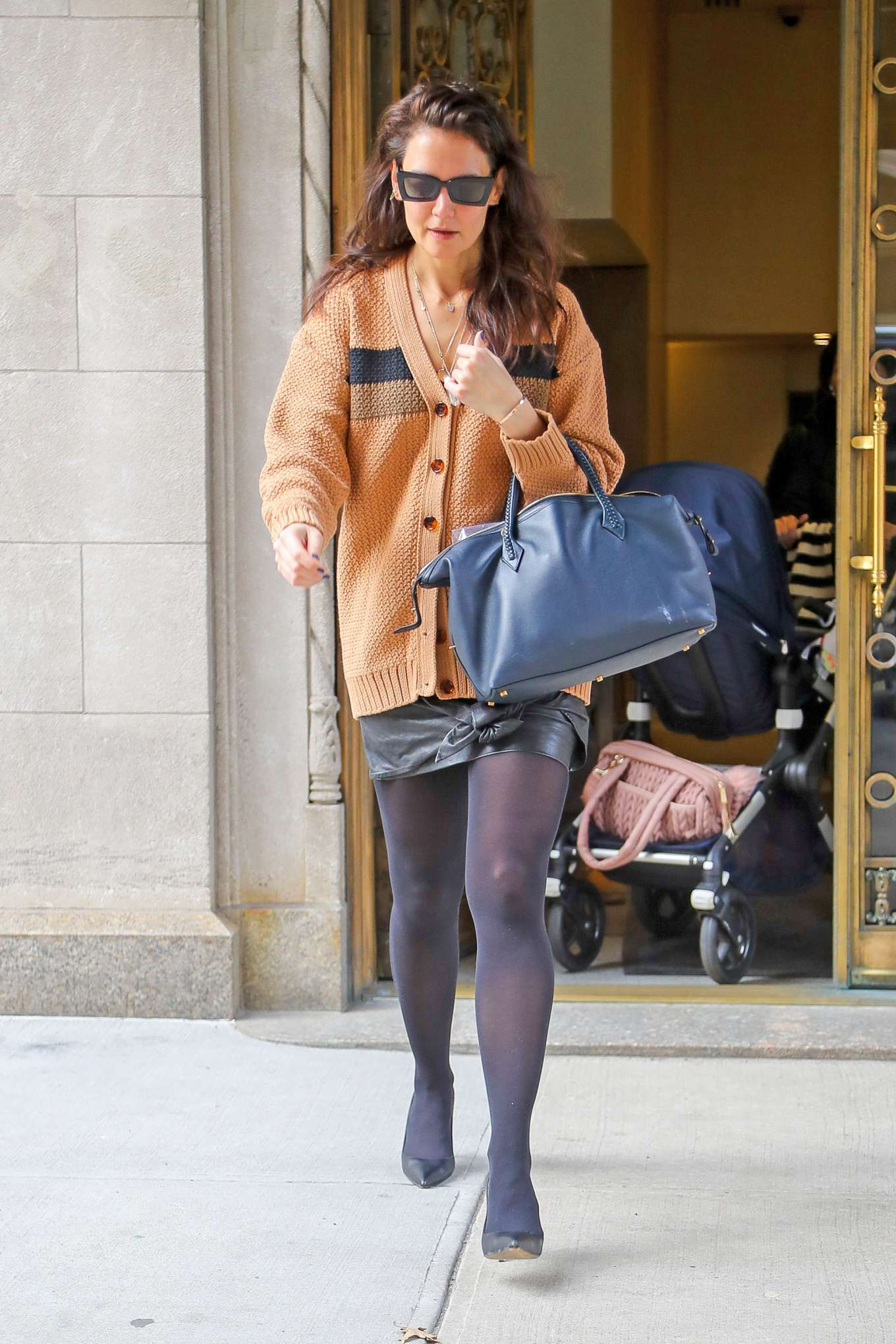 Katie Holmes 2020 : Katie Holmes – out in NYC-05