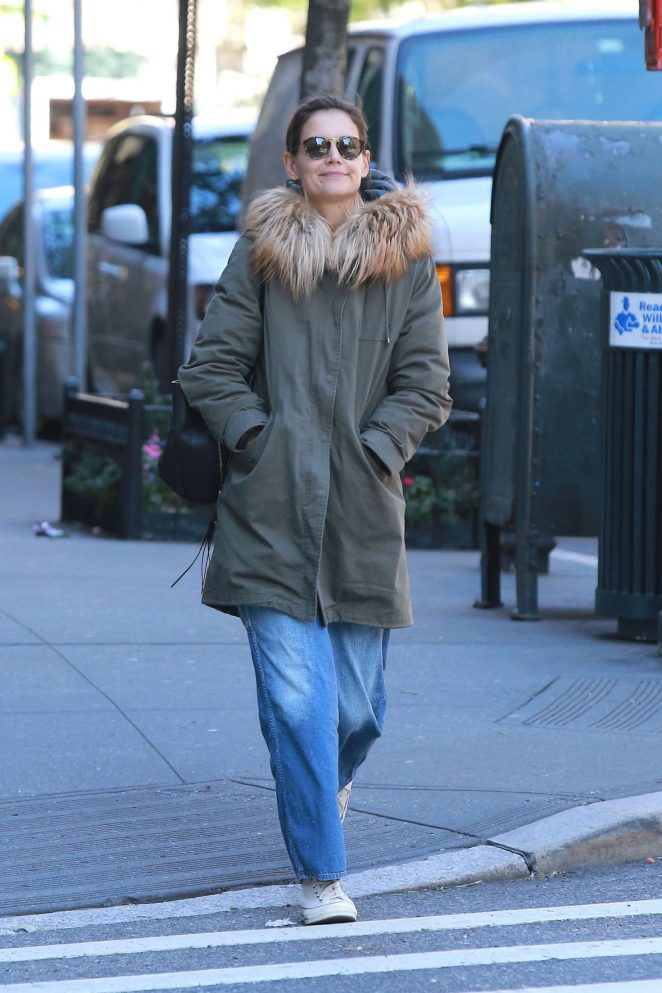 Katie Holmes - Out in NYC