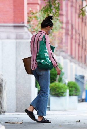 Katie Holmes - Out in SoHo - New York