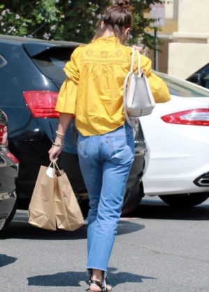 Katie Holmes - Out in Studio City