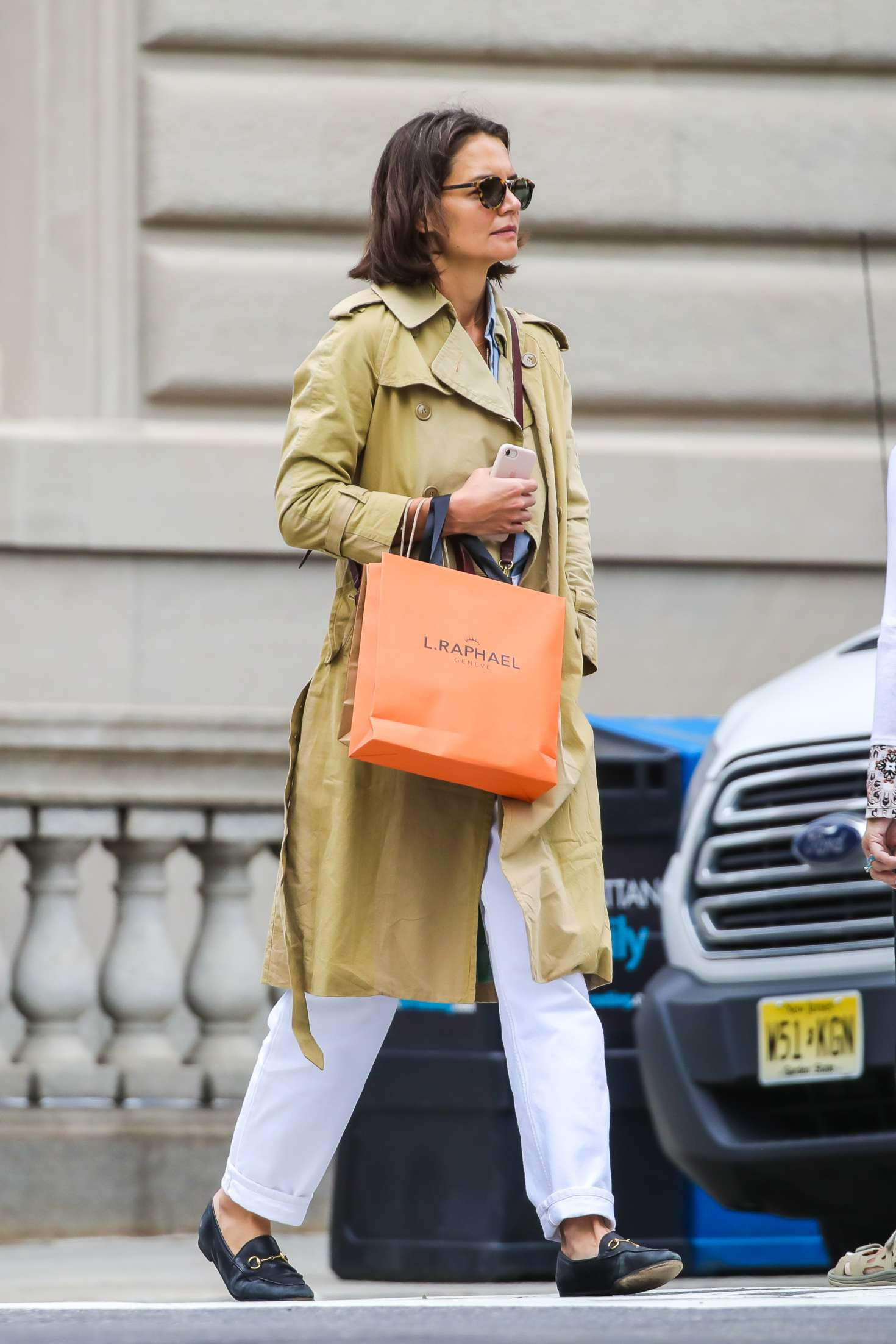 Katie Holmes 2018 : Katie Holmes: Out on Madison Avenue -02