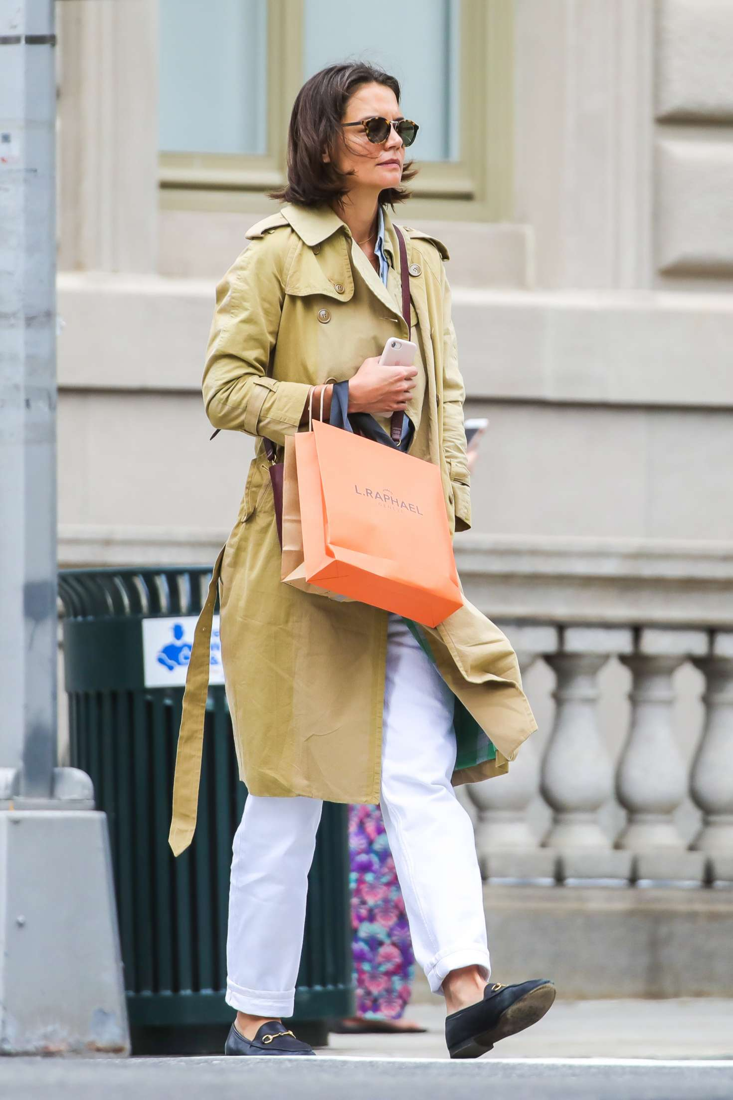 Katie Holmes 2018 : Katie Holmes: Out on Madison Avenue -05