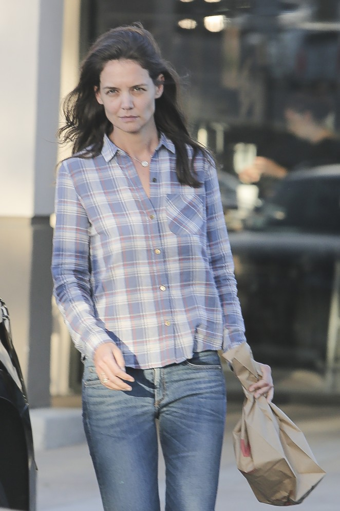 Katie Holmes out shopping at CVS in Calabasas